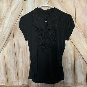 Heart & Soul Black SZ-M LNC Top Retail $68.00